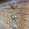 Kura Mae esta una canalón decorativa en cobre originario del Japón.