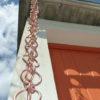 Ôji esta una canalón decorativa en cobre originario del Japón.
